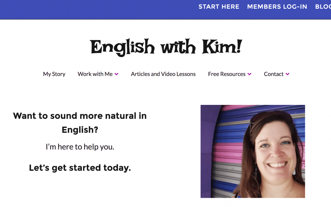 "Interview with Kim from ""English with Kim"" and Her Move Online"