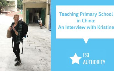 Teaching Primary School in China – An Interview with Kristine